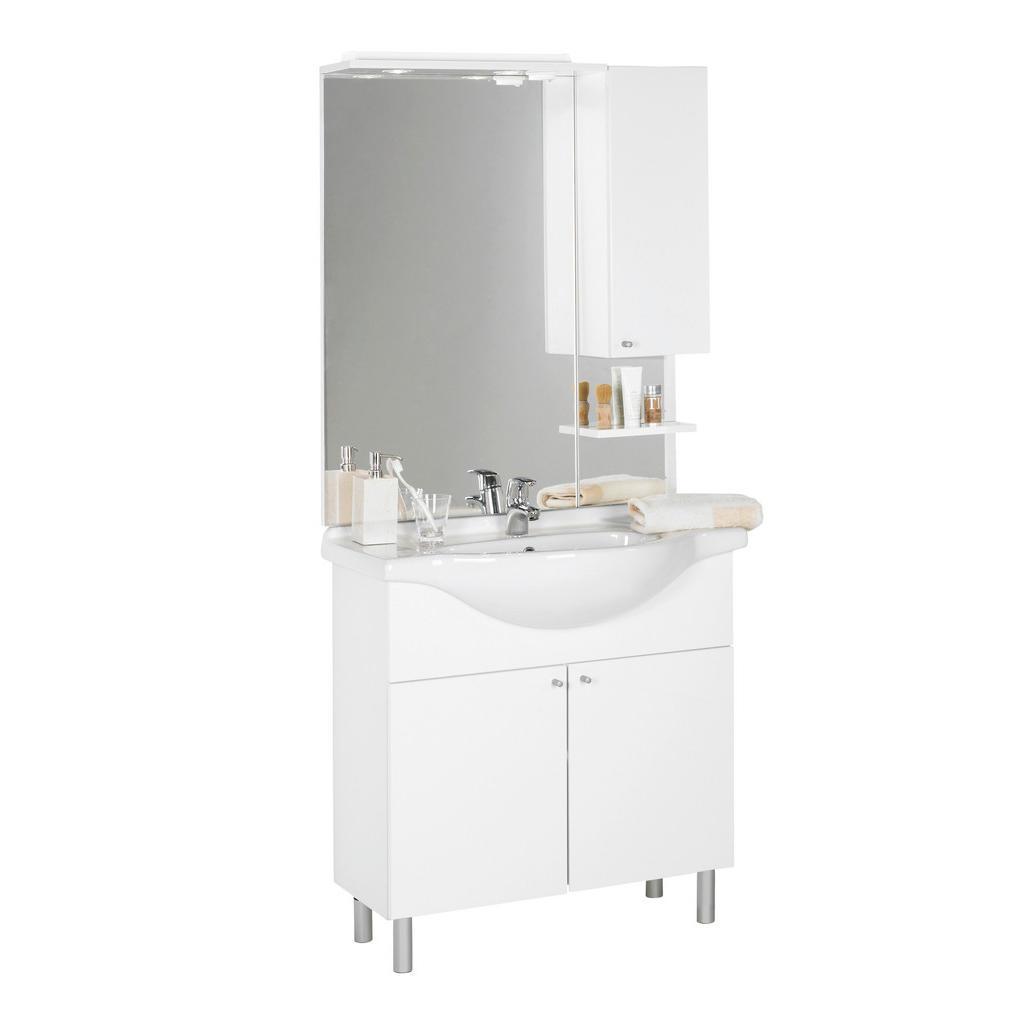 Jak vybrat nábytek do koupelny Xora KOUPELNA, b�l�, 85/186/33-49 cm