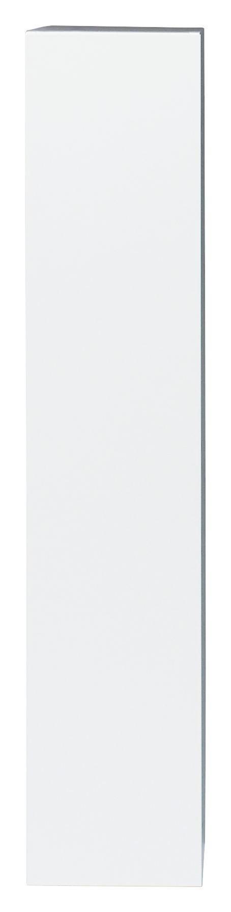 HÄNGEELEMENT Weiß - Weiß, Design, Holz (139/29/31cm) - Carryhome