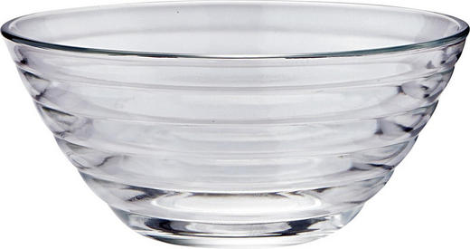 SCHÜSSEL 29 cm - Klar/Transparent, Design, Glas (29cm) - Homeware