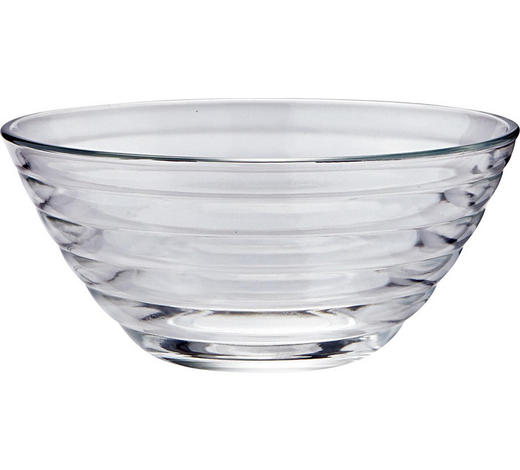 SCHÜSSEL 12 cm - Klar/Transparent, Design, Glas (12cm) - Homeware