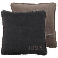 KISSENHÜLLE Anthrazit, Taupe 50/50 cm - Taupe/Anthrazit, Basics, Textil (50/50cm) - Joop!