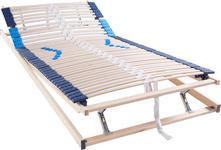 LATTENROST 90/200 cm  - Hellgrau/Weiß, Basics, Holz (90/200cm) - Hom`in