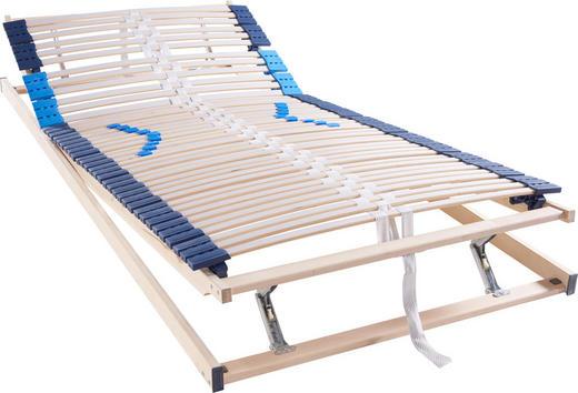 LATTENROST 140/200 cm - Hellgrau/Weiß, Basics, Holz (140/200cm) - Hom`in
