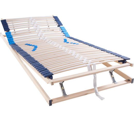 LATTENROST 100/200 cm - Hellgrau/Weiß, Basics, Holz (100/200cm) - Hom`in
