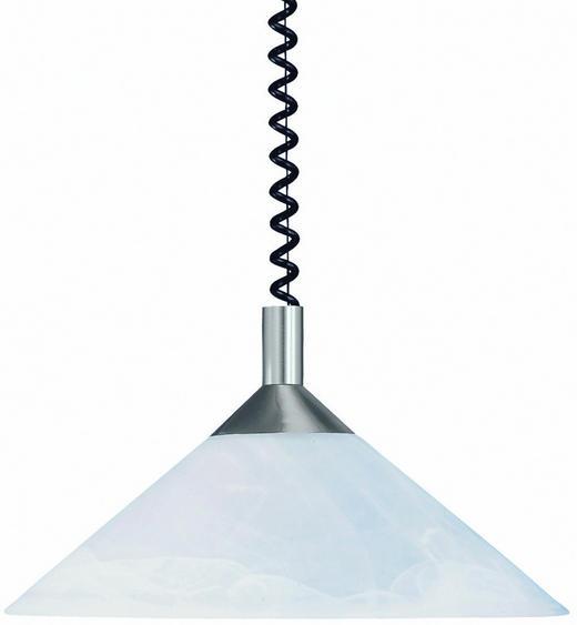 HÄNGELEUCHTE - Weiß, KONVENTIONELL, Metall (40cm)