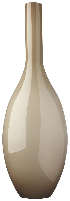 VASE - Beige, Basics, Glas (17.5/50/17.5cm) - Leonardo