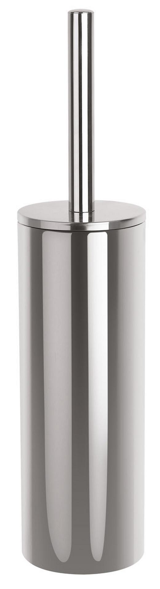 WC-BÜRSTENGARNITUR - Edelstahlfarben, Basics, Kunststoff/Metall (9.5/40cm) - SPIRELLA