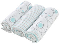 STOFFWINDEL - Blau/Weiß, Basics, Textil (75/75cm) - MY BABY LOU