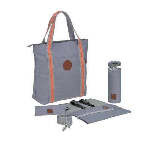 Wickeltasche Limited Edition  Tote Bag Adventure   - Grau, Basics, Kunststoff (36/15/41cm) - Lässig
