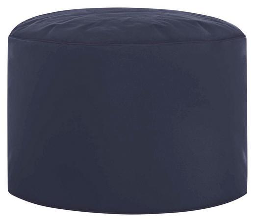 POUF Blau - Blau, Design, Textil (50/30cm) - Carryhome