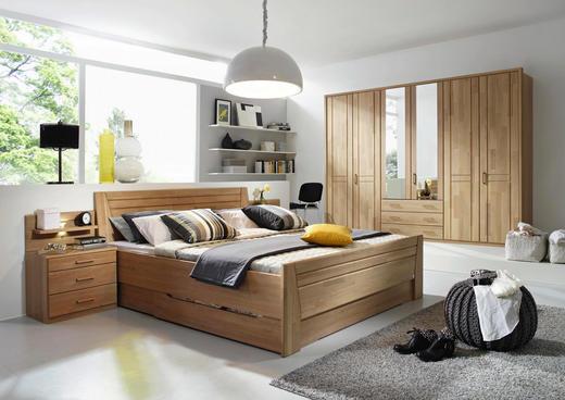 SCHLAFZIMMER Eichefarben - Eichefarben, Basics, Holz (180/200cm) - Cantus