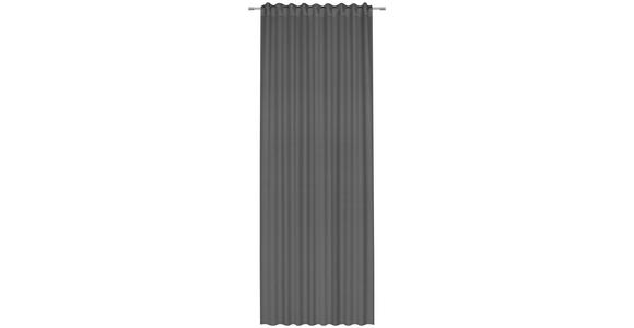 FERTIGVORHANG blickdicht  - Dunkelgrau, Basics, Textil (140/300cm) - Esposa