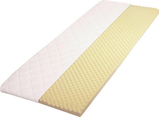 TOPPER 140/200 cm Viscoschaumkern - Weiß, Basics, Textil (140/200cm) - Carryhome