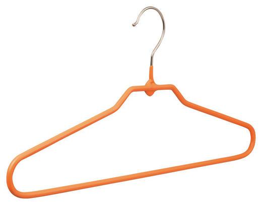 KLEIDERBÜGEL 40 cm Metall Orange - Orange, Design, Metall (40cm) - Carryhome