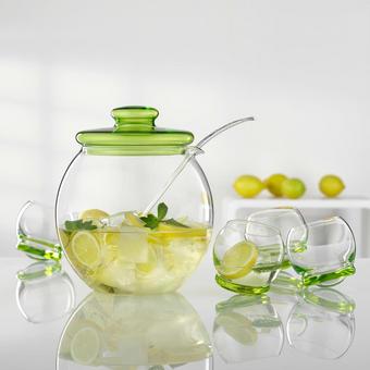 BOWLE-SET - Glas/Kunststoff (4,5l) - BOHEMIA