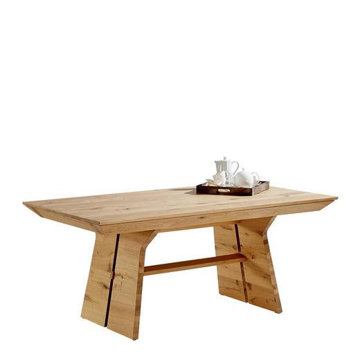 ESSTISCH Wildeiche furniert, massiv rechteckig Eichefarben - Eichefarben, Design, Holz (180/100/76,5cm) - Voglauer