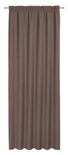 FERTIGVORHANG blickdicht - Braun, KONVENTIONELL, Textil (140/300cm) - Esposa