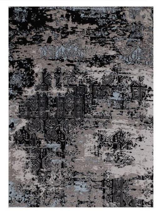 FLACHWEBETEPPICH  145/200 cm  Blau, Grau - Blau/Grau, Basics, Textil (145/200cm) - Novel