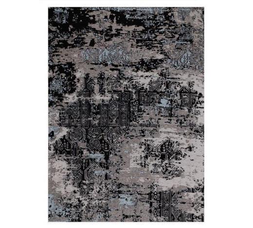 FLACHWEBETEPPICH  250/300 cm  Blau, Grau   - Blau/Grau, Basics, Textil (250/300cm) - Novel
