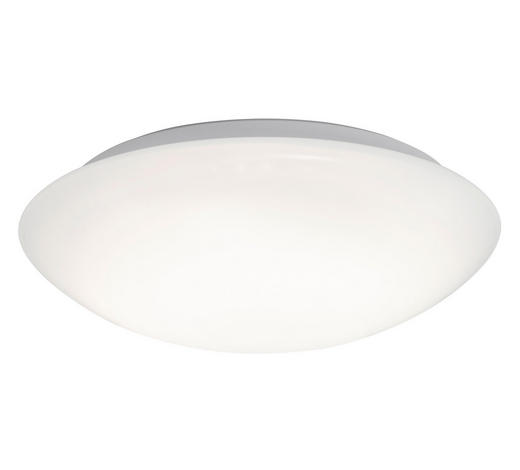 STROPNA LED-SVETILKA - bela, Basics, umetna masa (40/9,3cm)