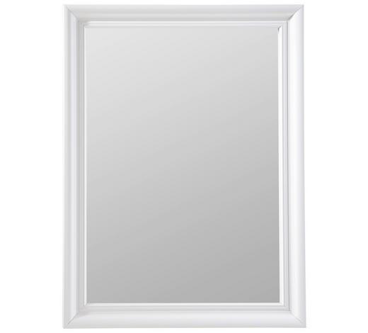 SPIEGEL - Weiß, KONVENTIONELL, Glas/Holzwerkstoff (45/60cm) - Carryhome