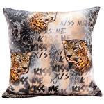 Zierkissen Gianni - Schwarz/Braun, ROMANTIK / LANDHAUS, Textil (45/45cm) - James Wood