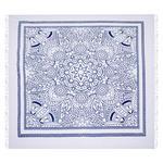 STRANDTUCH 210/220 cm  - Blau/Weiß, KONVENTIONELL, Textil (210/220cm) - Esposa