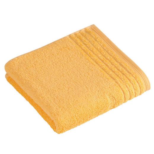 HANDTUCH 50/100 cm - Honig, Basics, Textil (50/100cm) - Vossen