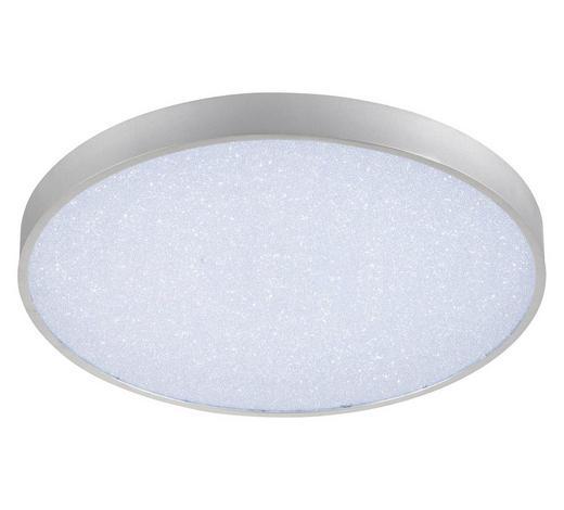 LED-DECKENLEUCHTE - Silberfarben, Basics, Kunststoff/Metall (60/8cm)