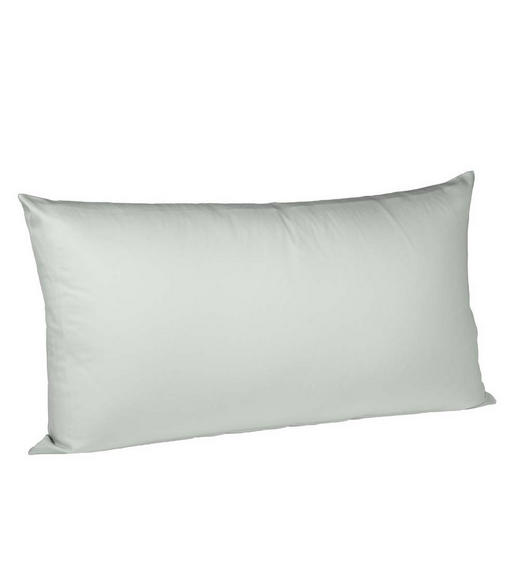 KISSENHÜLLE Silberfarben 40/80 cm - Silberfarben, Basics, Textil (40/80cm) - Fleuresse