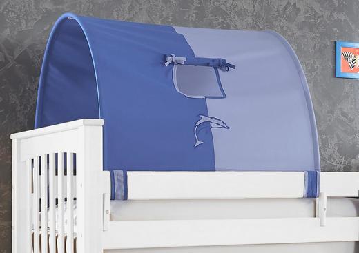 TUNNELSET Dunkelblau, Hellblau - Dunkelblau/Hellblau, Design, Textil