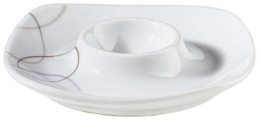 EIERBECHER Keramik Porzellan - Braun/Weiß, Basics, Keramik (12/12/2cm) - Ritzenhoff Breker