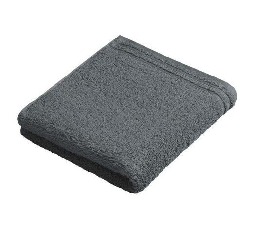 RUČNÍK, 50/100 cm, šedá - šedá, Basics, textil (50/100cm) - Vossen