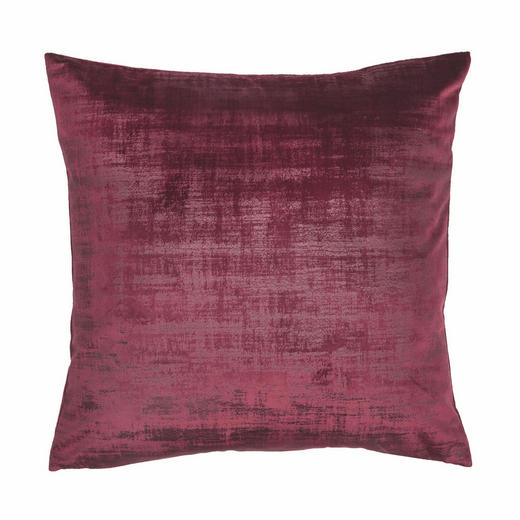 KISSENHÜLLE Beere 45/45 cm - Beere, KONVENTIONELL, Textil (45/45cm)