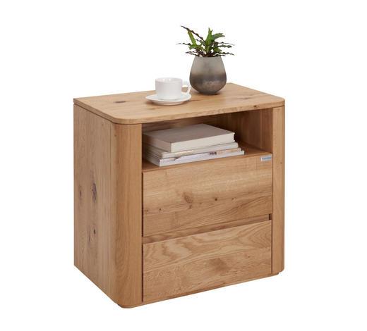 NOČNÍ STOLEK, divoký dub, barvy dubu - barvy dubu, Natur, dřevo (60/60/38cm) - Valnatura