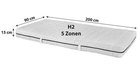 Kaltschaummatratze Easy 90x200cm H2 - (90/200cm) - Primatex
