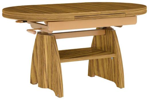 COUCHTISCH in Eichefarben - Eichefarben, KONVENTIONELL, Holz/Holzwerkstoff (110(130,5/65/56-75cm) - Venda
