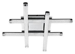 LED-TAKLAMPA - klar, Klassisk, metall/plast (49/49/8,5cm) - Novel