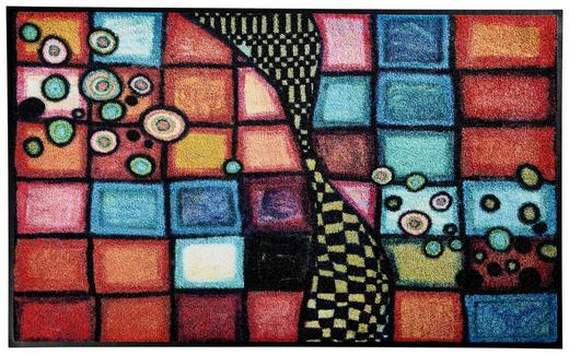 FUßMATTE 75/120 cm Abstraktes Multicolor - Multicolor, Basics, Kunststoff/Textil (75/120cm) - Esposa