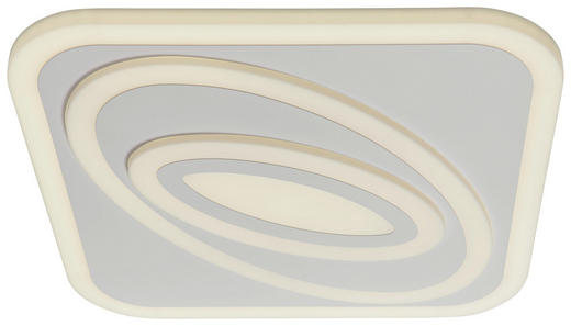 LED-DECKENLEUCHTE - Hellgrau, Design, Kunststoff (98,0/6,0/68,0cm)