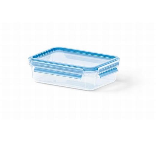 FRISCHHALTEDOSE 0,8 L - Blau/Transparent, Basics, Kunststoff (19.7/13.6/5.9cm) - Emsa