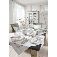 Speiseteller - Weiß, Design, Keramik (28,1cm) - Novel