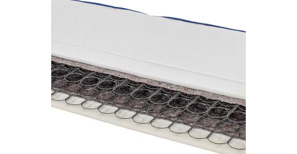 Federkernmatratze Coppy 90x200 H2 - Weiß, Textil (90/200cm) - Primatex