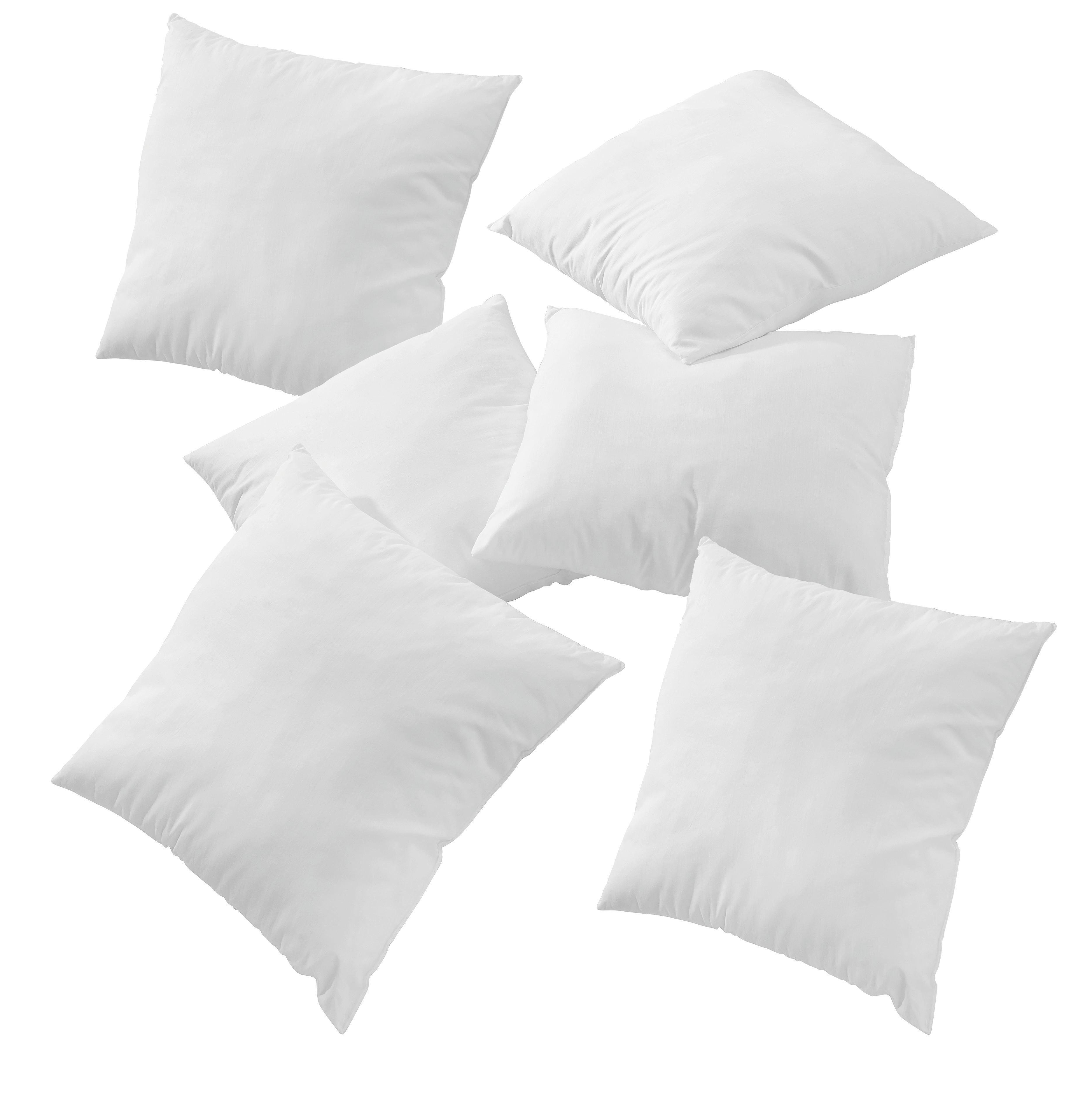 FÜLLKISSEN  40/40 cm - Weiß, Basics (40/40cm) - BOXXX