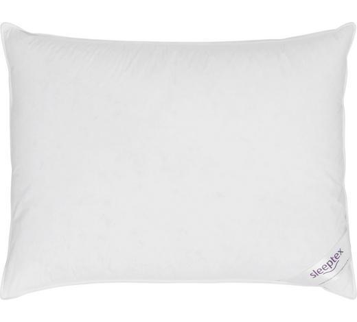 POLŠTÁŘ 3KOMOROVÝ, 40/60 cm - bílá, Basics, textil (40/60cm) - Sleeptex