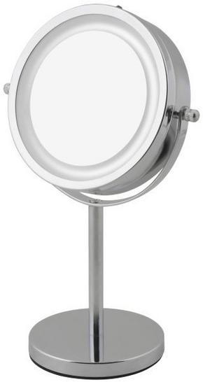 SMINKSPEGEL - alufärgad, Basics, metall/glas (11/30cm)