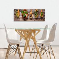 Gewürze GLASBILD - Multicolor, KONVENTIONELL, Glas (30/80/2cm) - Eurographics