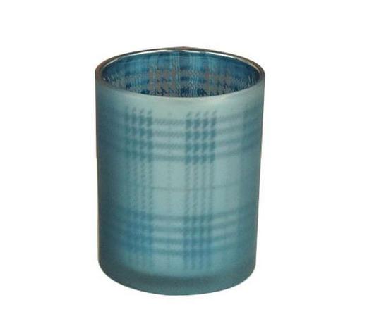 TEELICHTHALTER - Blau, Trend, Glas (9/10cm) - Ambia Home