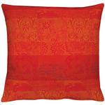KISSENHÜLLE Multicolor, Orange, Rot, Dunkelorange  - Rot/Dunkelorange, LIFESTYLE, Textil (49/49cm) - Ambiente
