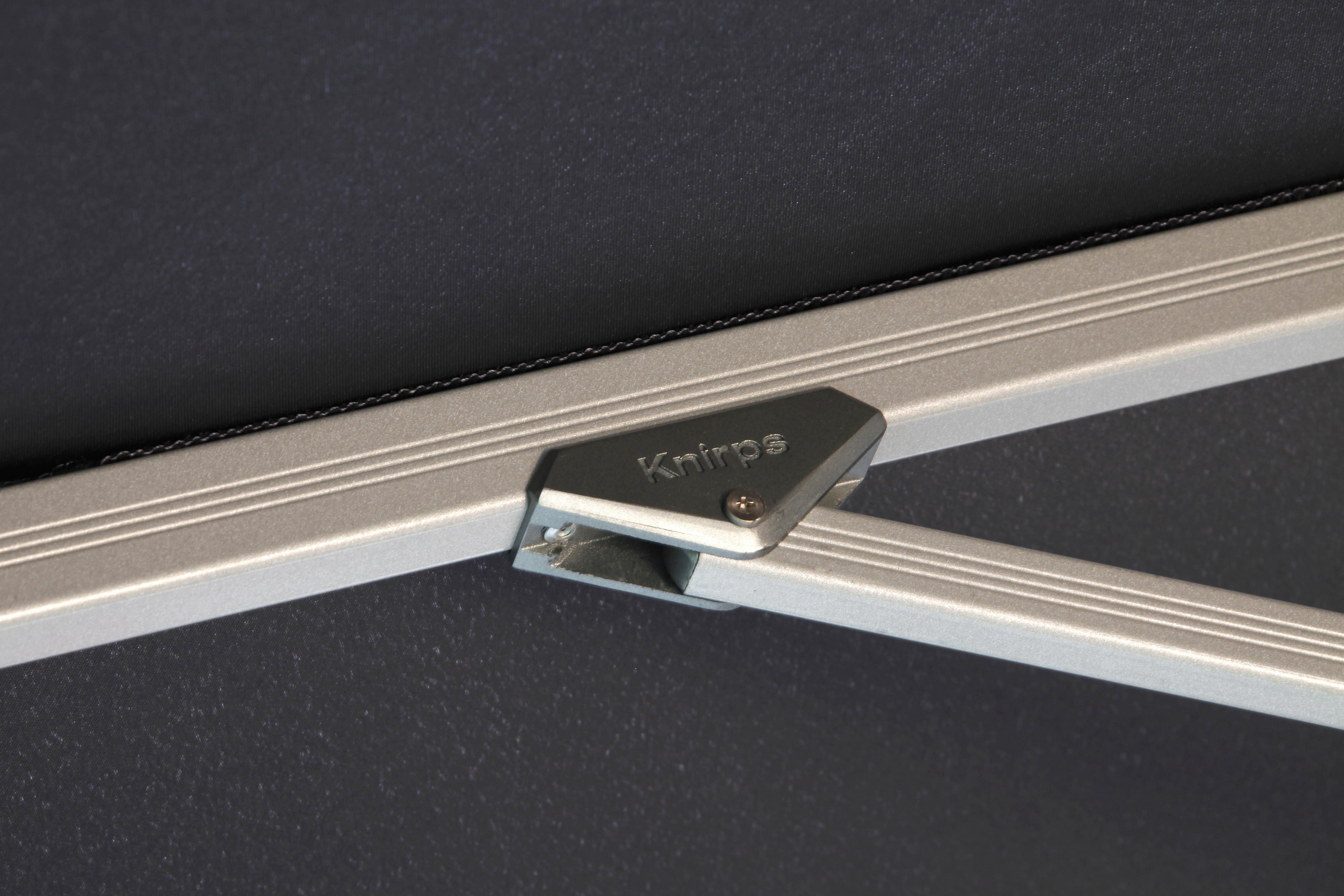 PENDELSCHIRM 275 cm Bordeaux - Bordeaux/Silberfarben, KONVENTIONELL, Textil/Metall (275/263/275cm)
